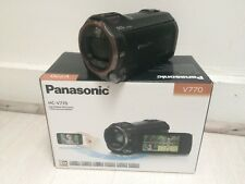 Panasonic HC-V770 - CAMESCOPE HD (1080p) - Zoom Optique 20 x 12.76 Mpix