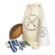 New In Bag American Vintage 5 On 5 Deluxe Flag Football Set In Canvas Bag