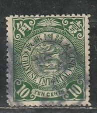 1900-06 China stamps, dragon 10c, used SG 127