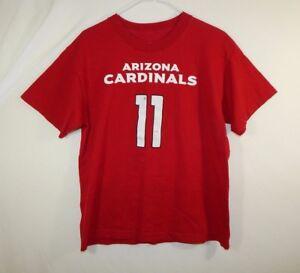 Larry Fitzgerald Arizona Cardinals NFL Football T Shirt Reebok Size YOUTH XL