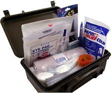 New Fully Stocked General Purpose First Aid Kit w/ Case