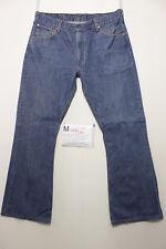 Levi's 516 boot cut Boyfriend jeans usato (Cod.M462) Tg.50 W36 L36 vintage