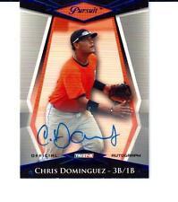 2011 TRISTAR Pursuit Autographs Blue #71 Chris Dominguez Giants / Reds 16/50
