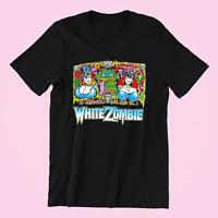 White Zombie Feed the Gods Short Sleeve Black Men S-234XL T-shirt H349