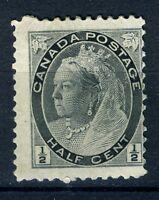 1898 Canada Stamp:1/2c; Queen Victoria; SC#74; MLH & OG; CV=$16;  s10