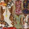 Plus Size Women's Cotton Summer Short Sleeve Long T-Shirt Ladies Casual Dress