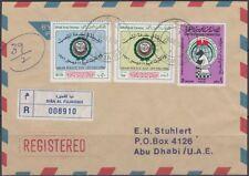 1988 UAE local R-Cover Diba Al Fujeirah to Abu Dhabi, police Day Chess [bl0352]