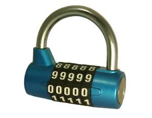 Tri-Circle 5 Dial Combination Padlock