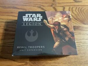 Star Wars Legion Rebel Troopers Unit Expansion new miniatures fantasy flight