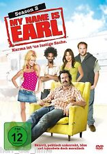 MY NAME IS EARL, Season 2 (4 DVDs) NEU+OVP