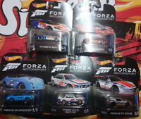 Lot 5 Hot wheels Retro Entertainment Forza Motorsport 2018 (N11)