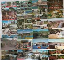 24 Vintage Postcards Collection UK & Foreign Mixed B/W Colour Job Lot as Seen