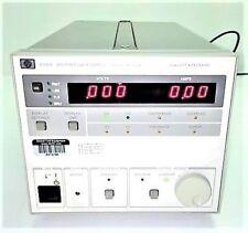 Agilent HP Keysight 6038A System DC Power Supply CALIBRATED w/Data