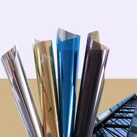 One Way Mirror Film Window Glass Sticker Tint Solar Insulate Reflect Privacy
