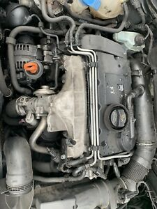 Seat Audi Vw 2.0 Bkd Complete Engine Injectors Fuel Pump.wiring Unplugged Pro
