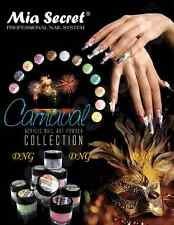 12 Colors Set Mia Secret Acrylic Powder Carnival 3D Nail Art Made in USA