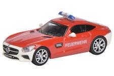 """Mercedes-Benz AMG GT S """"Feuerwehr"""" Art.-Nr. 452628500 Schuco H0 Modell 1:87"""