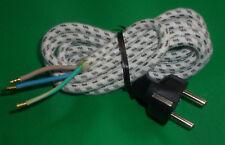 2 pièces FIXAPART Fer à repasser Câble Lien CORD 2M Crampon Noir Embouts de