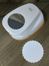 """Recollections Extra Large Paper Punch Scrapbooking : Circle Scallop 3.5"""""""
