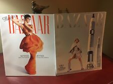 TWO Harper's Bazaar Collectors Editions Kendall Jenner May 2017 & GIGI June 2017
