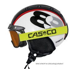 CASCO Mini Pro 89 schwarz-weiß 2019 Skihelm Größe 52-56 cm/ S | 19.07.1878.S