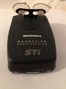 Beltronics STi Driver Manesium Prefessioal Radar Detector MSRP $499.99 if Compl.
