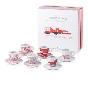 illy Art Collection Robert Wilson 1992 Cuppochinotassen 6erPack Limited Edition