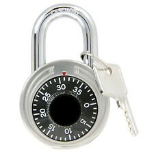 Combination Padlock with Key Control Override, 1-7/8 Inch, Guard Security, 55154
