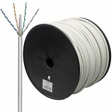 Cat 6 Patchkabel 100 M , 4x2xAWG 23/1 S/FTP  geflechtgeschirmt, flexibel/DSL LAN