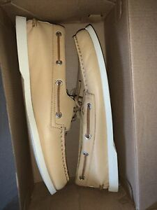 Sperry Men's Authentic Original 2-Eye Whisper Yellow Boat Shoes STS22216