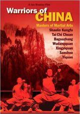 Empty Mind Films: Warriors of China DVD shaolin kung fu baqua taiji hsing i budo