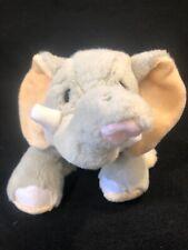 """Webkinz Ganz Velvety Elephant Soft Plush Stuffed Animal  no code 10"""""""