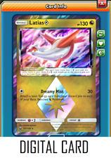 Pokemon TCG ONLINE Latias Prism Star (DIGITAL CARD) Celestial Storm Rare