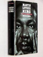 MARTIN LUTHER KING - David L. Lewis (1970 1st UK Edition) H/bk d/j Civil Rights