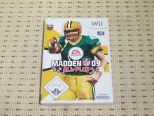 Madden NFL 09 pour nintendo wii et wii u * OVP *