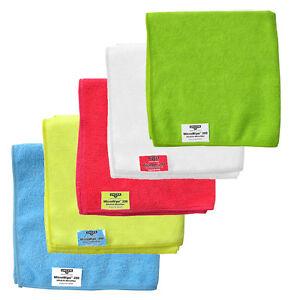 Unger   Smartcolour Microwipe   Microfibre Cloths   Pack of 10