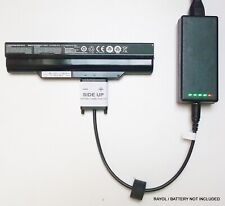 External Laptop Battery Charger for Clevo W230SD W230SS W230ST NP7339, W230BAT-6
