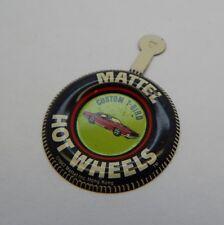 Redline Hotwheels Button Badge Metal Hong Kong Custom T-Bird R17228