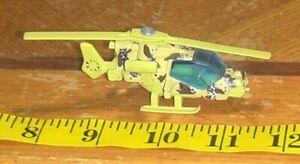 VINTAGE 1985 Matchbox Die Cast Mission Helicopter 1:80 Desert Camo military
