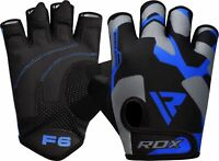 RDX Weight Lifting Gloves Gym Workout Fitness Bodybuilding  Breathable F6U