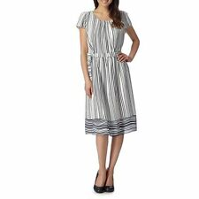 Calf Length Polyester Casual Tunic Dresses for Women