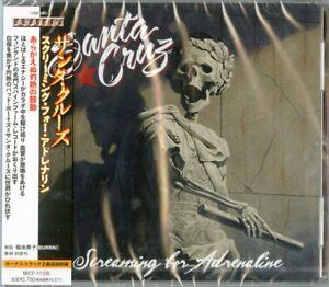 SANTA CRUZ-SCREAMING FOR ADRENALINE-JAPAN CD BONUS TRACK F75