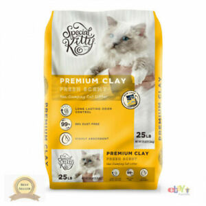 Special Kitty Premium Clay Cat Litter Fresh Scent 25 Lb