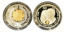 AUSTRALIA 2011 ROYAL WEDDING 50C SELECTIVELY GOLD PLATED SILVER PROOF 2 COIN SET
