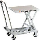 Aluminium Hubtisch 100kg Hubtischwagen Arbeitstisch Scherenhubtisch ALT10 01753