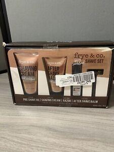 Frye & Co. Shave Set Spiced Sandalwood