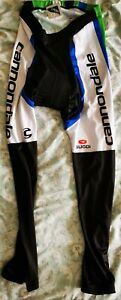 Cannondale Mens Cycling Bib Tights Thermal Padded Long LegWinter Cycle Trouser