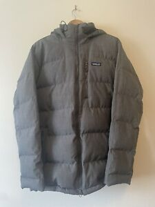 PATAGONIA Men's double down parka, Forge Grey, Large