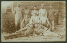 WW1 - German 78th Reserve Division At Leisure  - 1916 Photo Postcard