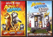 Alpha and Omega 6-Movie DVD Film Collection Family BRAND NEW
